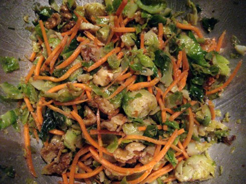 Brussels Sprouts Salad | Adventures of a Hungry Redhead
