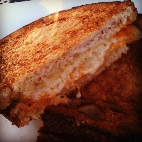 Grilled Cheese from Boudin | Adventures of a Hungry Redhead