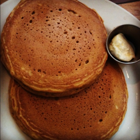 Pumpkin Spice Pancakes from Crepevine | Adventures of a Hungry Redhead