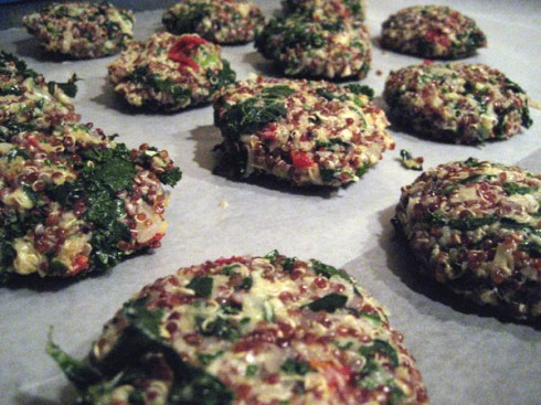Kale and Quinoa Cakes | Adventures of a Hungry Redhead