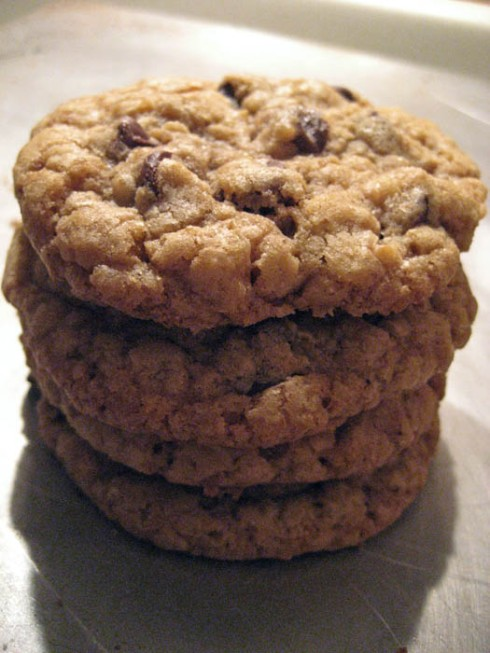 Oatmeal Chocolate Chip Cookies   Adventures of a Hungry Redhead