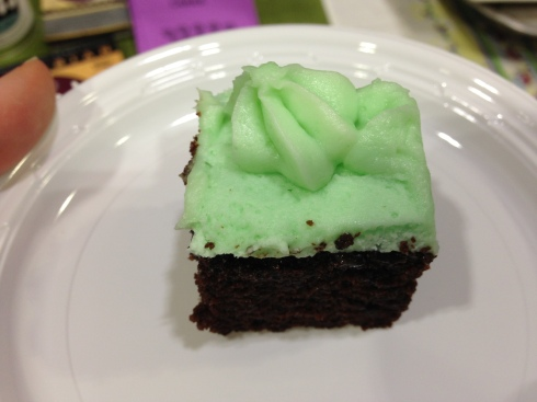 Vegan Grasshopper Cake from The Grit