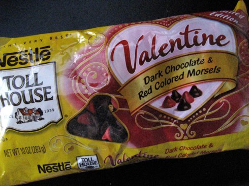 Nestle Valentine Chips