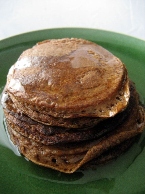Paleo Pumpkin Pancakes | Adventures of a Hungry Redhead
