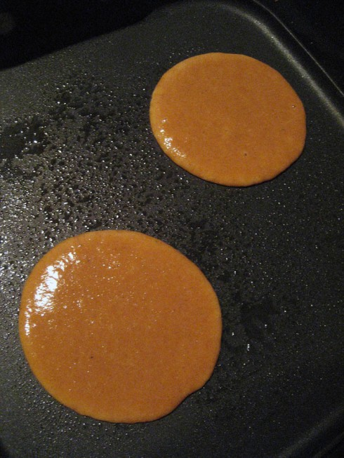 Paleo Pumpkin Pancakes   Adventures of a Hungry Redhead