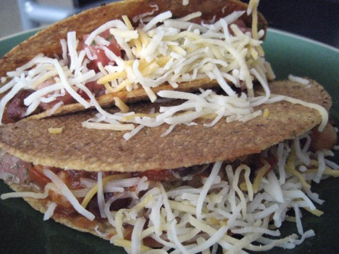 Three Bean Tacos | Adventures of a Hungry Redhead