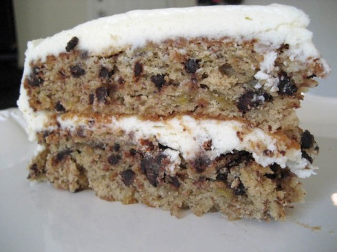 Chocolate Chip Banana Cake | Adventures of a Hungry Redhead