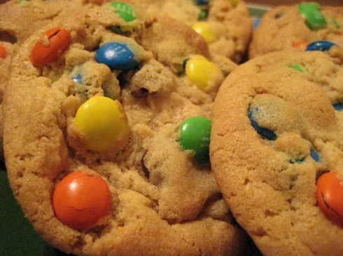 M&M Cookies | Adventures of a Hungry Redhead