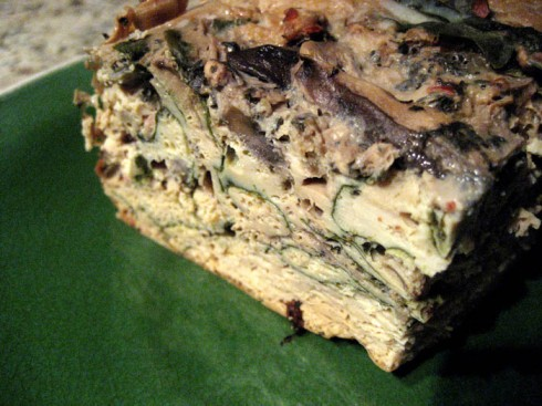 Easy Paleo Breakfast Pie | Adventures of a Hungry Redhead