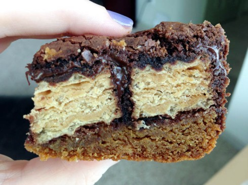 P'Nutty Slutty Brownies | Adventures of a Hungry Redhead