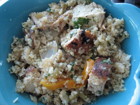 Mexican Chicken and Cauliflower Rice | Adventures of a Hungry Redhead