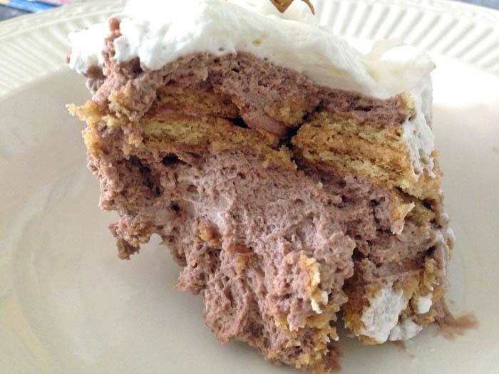 Chocolate Icebox Cake With Vanilla Wafers