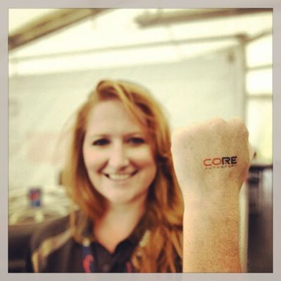 CORE autosport Tattoo