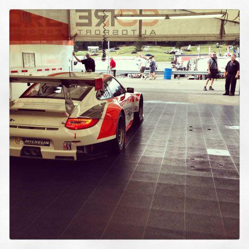 CORE autosport paddock