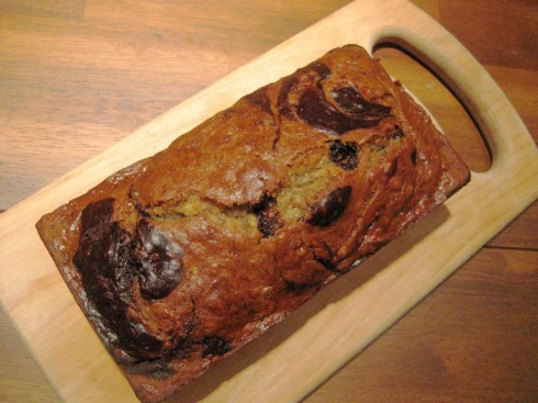 Vegan Banana Chocolate Swirl Bread | Adventures of a Hungry Redhead