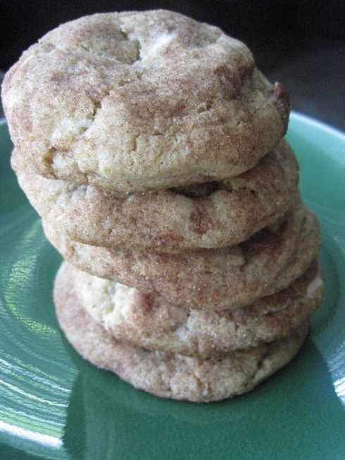 White Chocolate Chip Snickerdoodle Cookies | Adventures of a Hungry Redhead