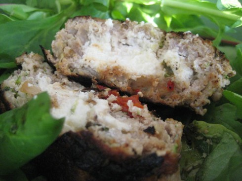 Stuffed Turkey Burgers | Adventures of a Hungry Redhead