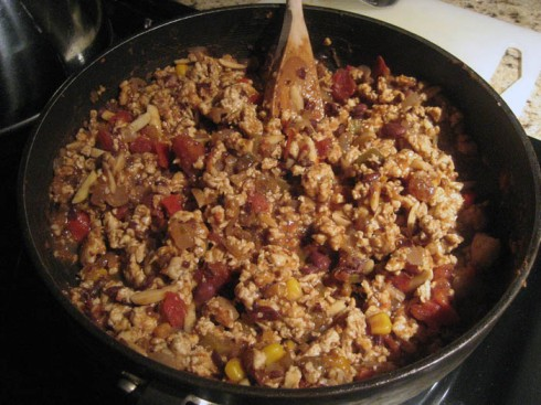 Chicken Picadillo | Adventures of a Hungry Redhead
