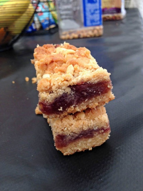 Peanut Butter Jelly Bars | Adventures of a Hungry Redhead